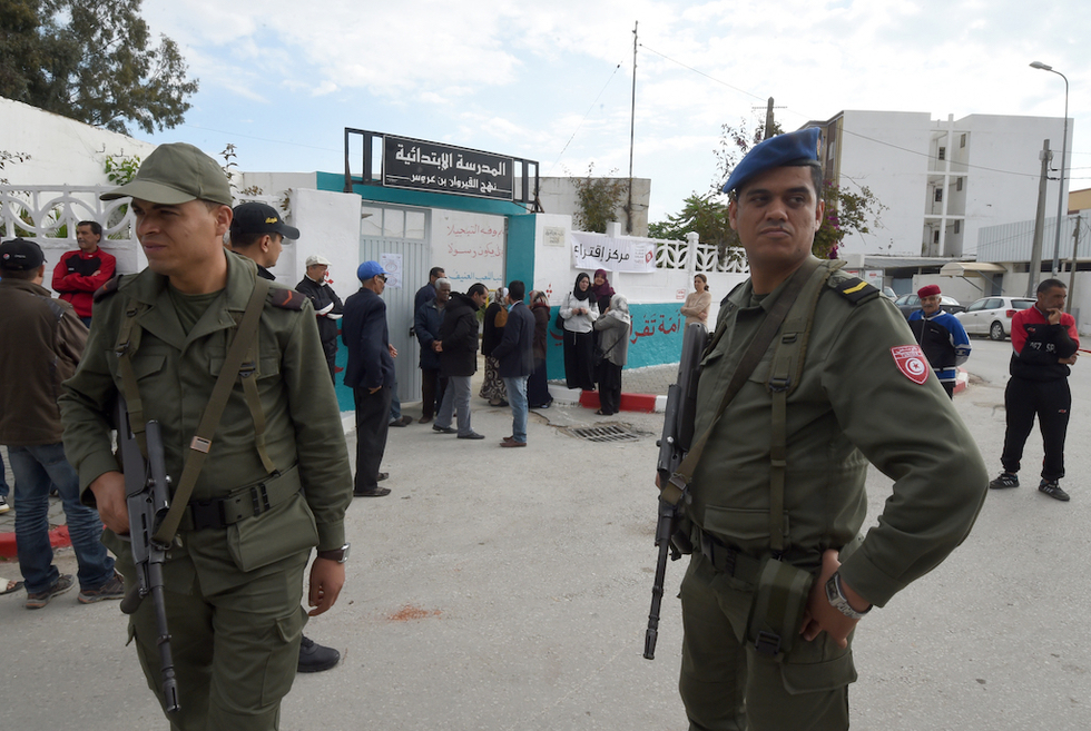 'Terrorist attack' kills six Tunisia security forces near Algeria border