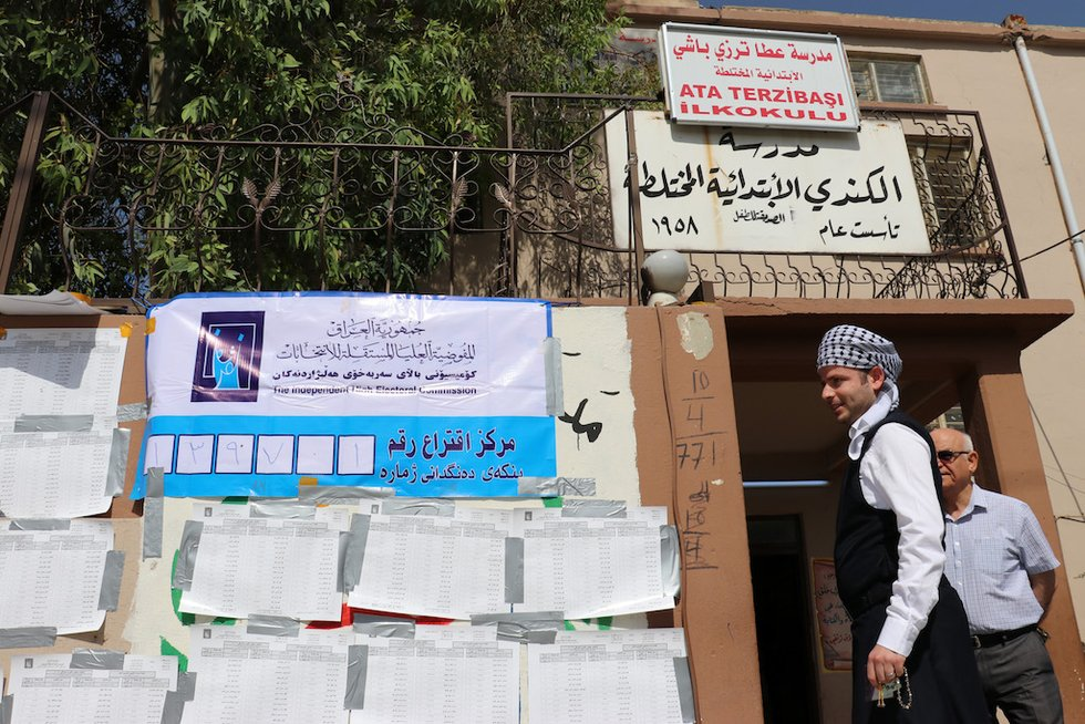 Vote recount in Iraq's Kirkuk already producing 'differences'