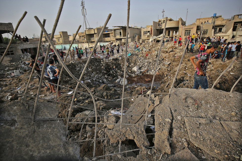 Arrest warrants issued for 20 accused in blast in Sadr's Baghdad stronghold
