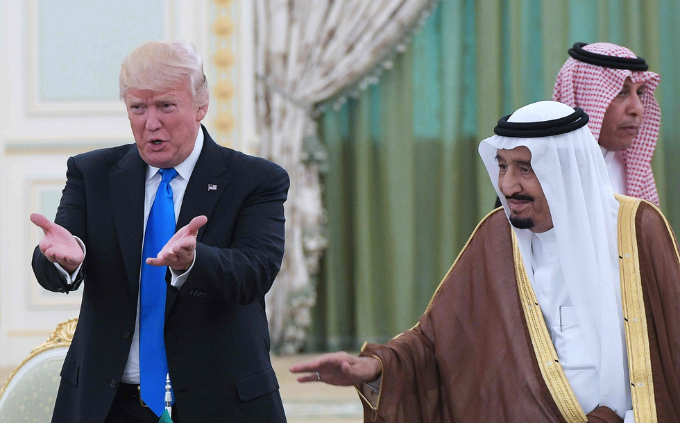 Saudi king agrees to ramp up oil production, Trump says