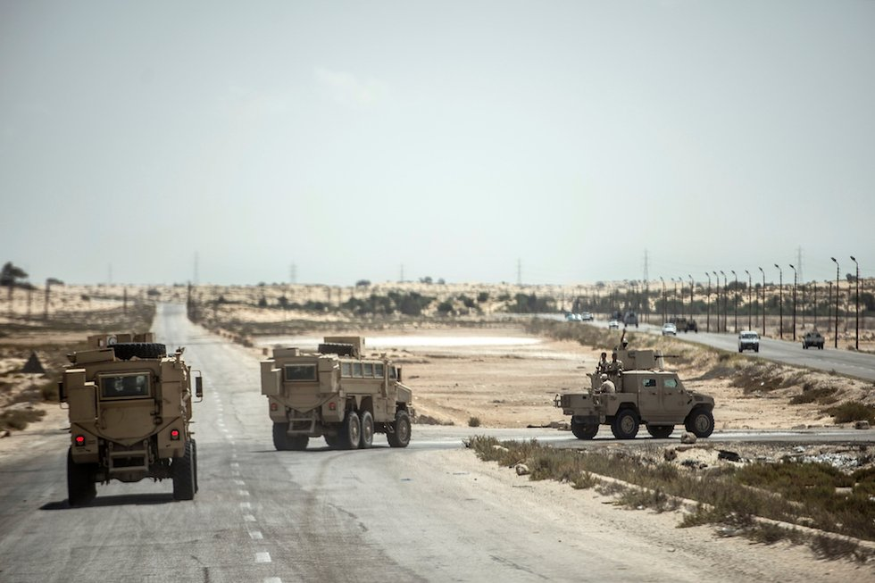 Egyptian forces kill 52 fighters in Sinai, says military