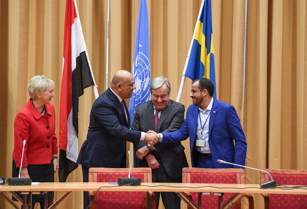 Yemen's warring parties agree to end hostilities in Hodeidah