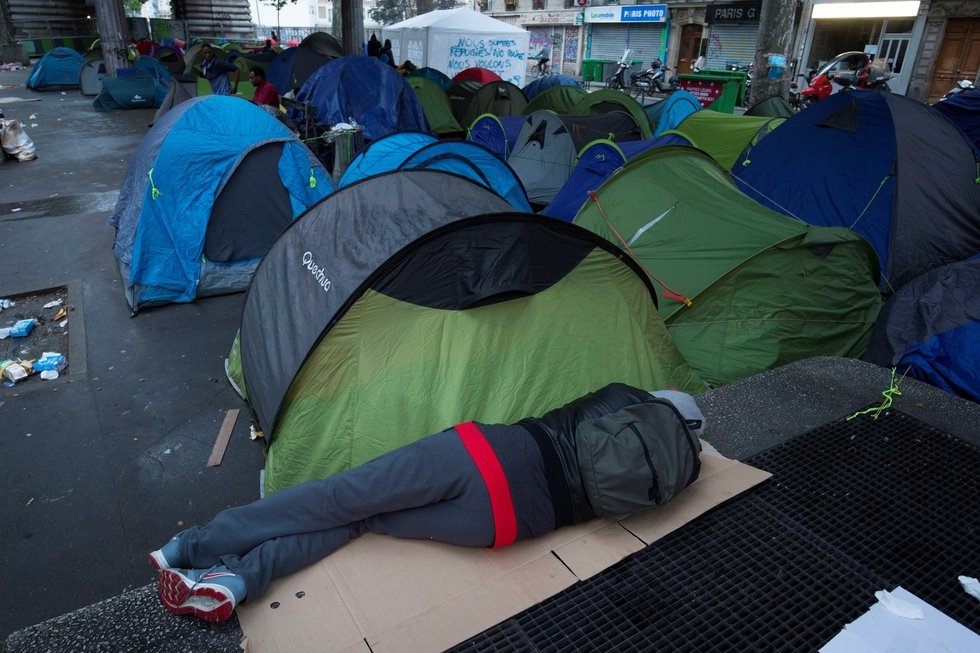 Ramadan In France For Three Homeless Libyan Refugees
