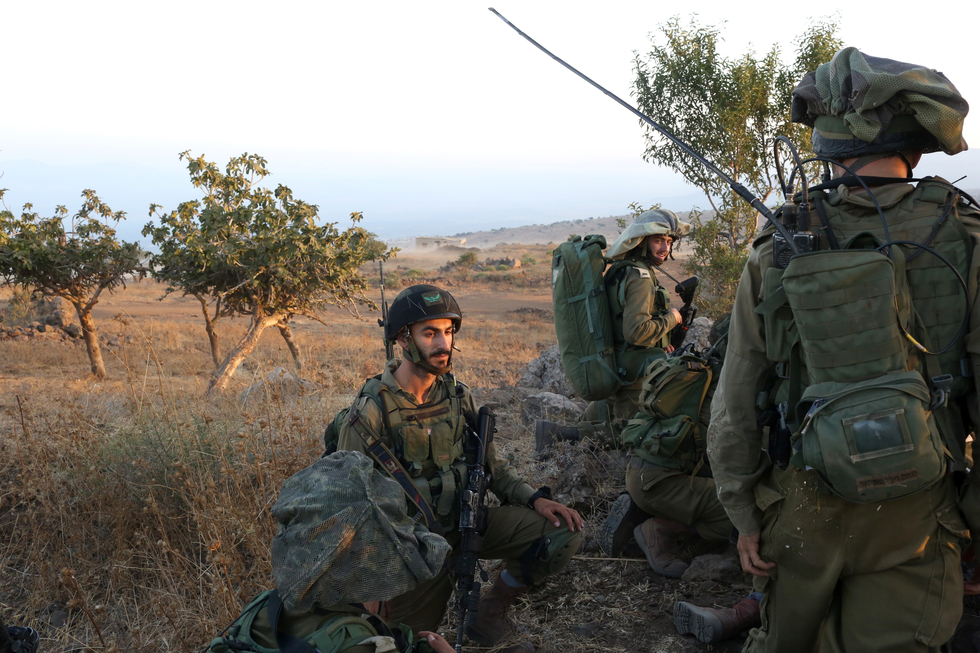 Israel hits Syrian military targets after stray fire on Golan: Army