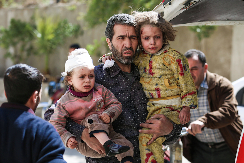 No fight against militants possible while air strikes continue: Syria opposition