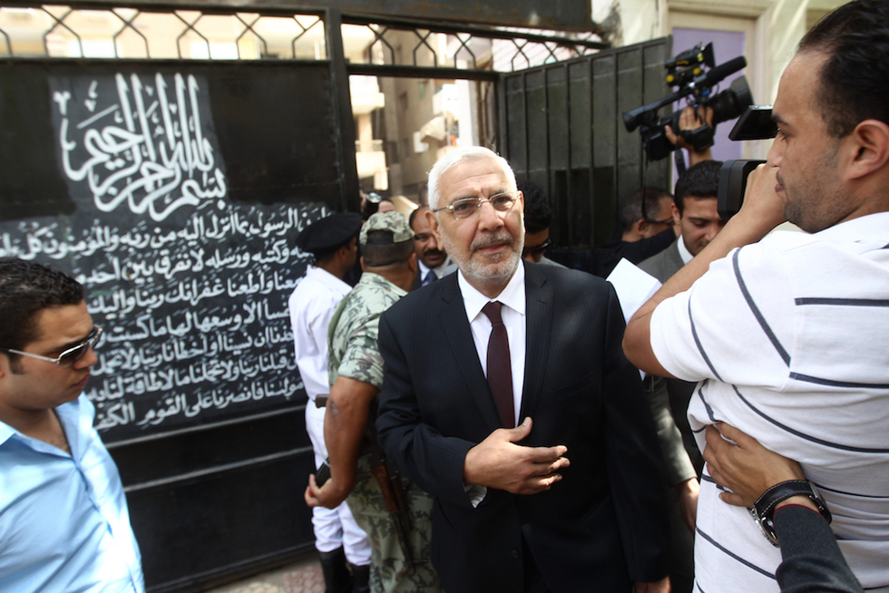 Former Egyptian presidential candidate has detention extended