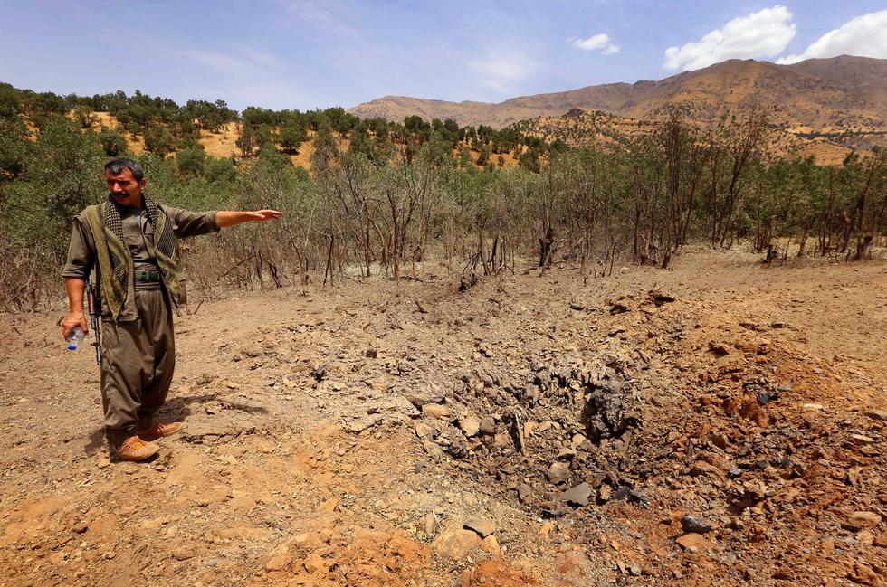 Turkish jets bomb PKK targets in northern Iraq: State ...