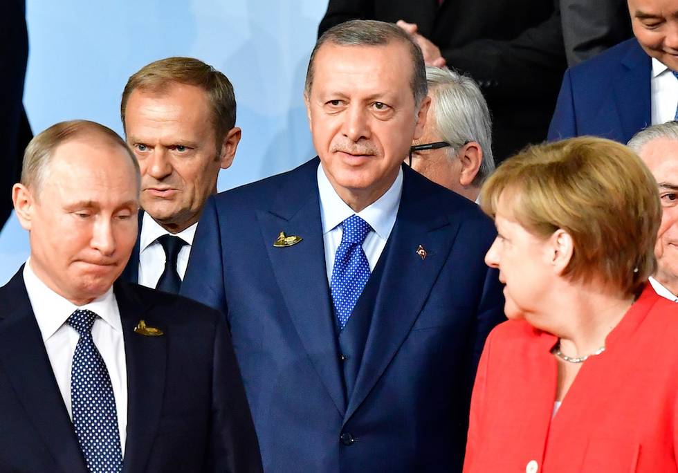 Germany and Turkey's top diplomats hold talks amid ...