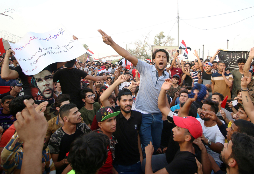 Protests continue to rock Iraq as rights groups report beatings and killings