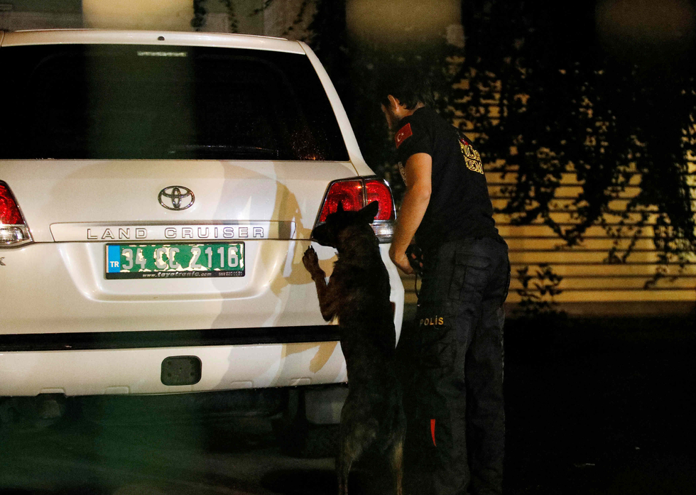 Khashoggi probe: Suspicious van leads Turkish police to woodland