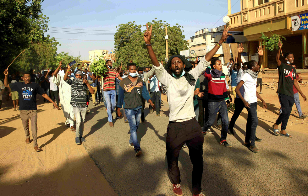 Sudan political parties call for 'transitional council' to run country