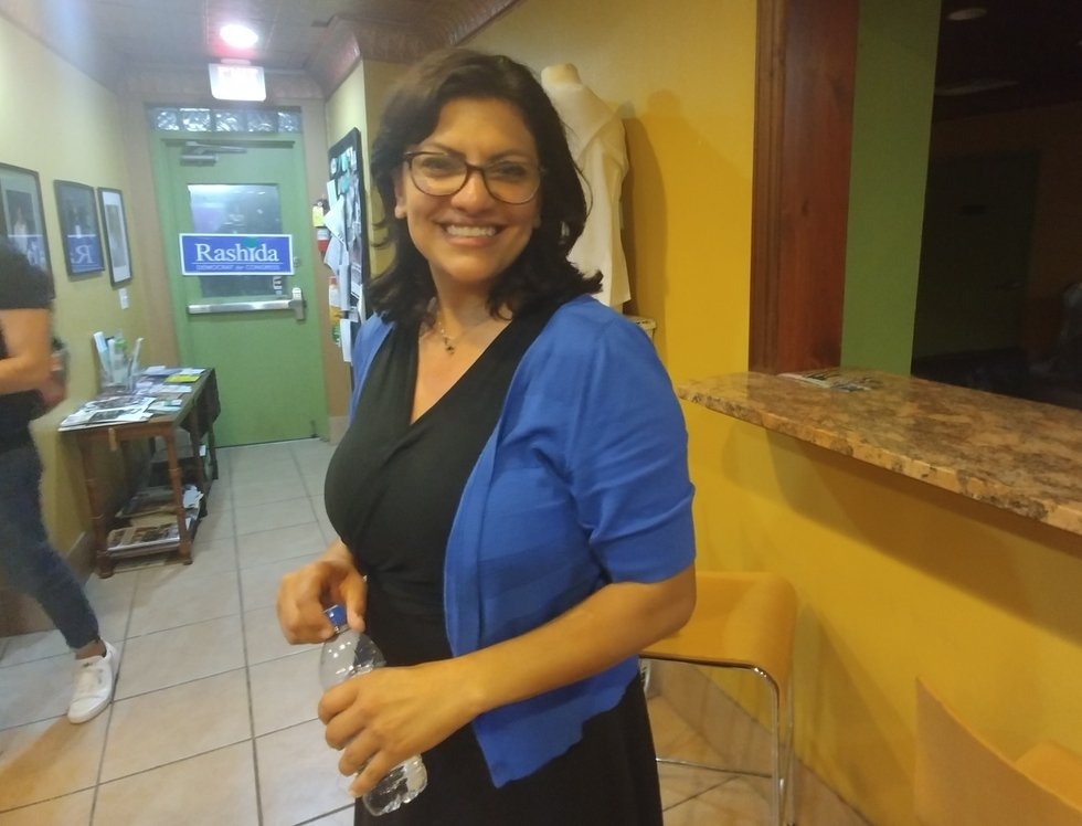 First Muslim woman in US Congress: Rashida Tlaib pulls historic victory