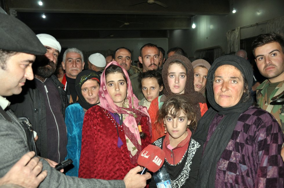 'Ive never felt this happy': Druze hostages freed from Islamic State in Syria's Sweida