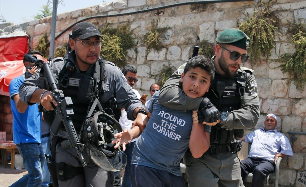A 35-year prison term at 17: Palestinian children and Israeli justice