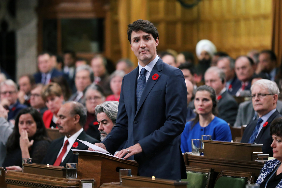Canada's Trudeau condemns BDS in apology to Jewish WWII refugees