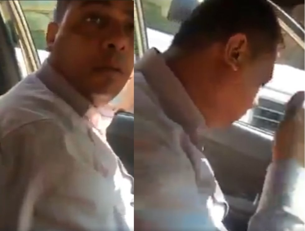 VIDEO: Egyptian woman hits her taxi driving harasser