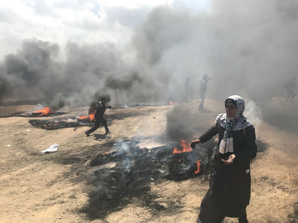 Two killed as Palestinians mark 70th Nakba anniversary in wide-scale protests