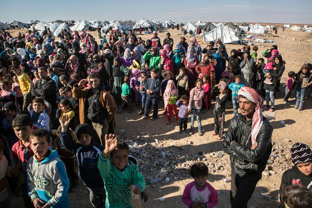 UN calls for healthcare access for Syrians trapped on Jordanian border
