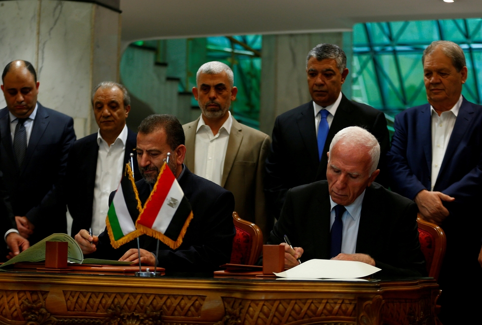 Hamas and Fatah delegations in Cairo for unity talks