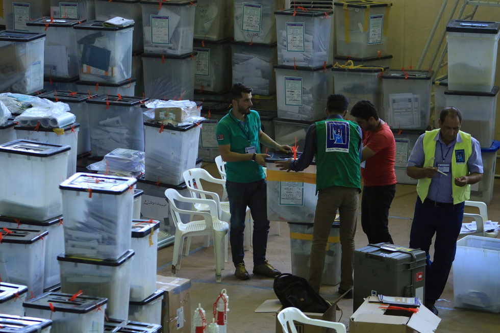 Iraqi election recount results ratified, paving way for government formation