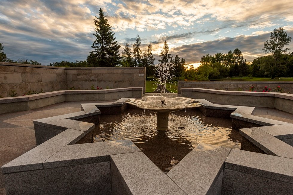 World S Northernmost Islamic Garden Opens In Canada