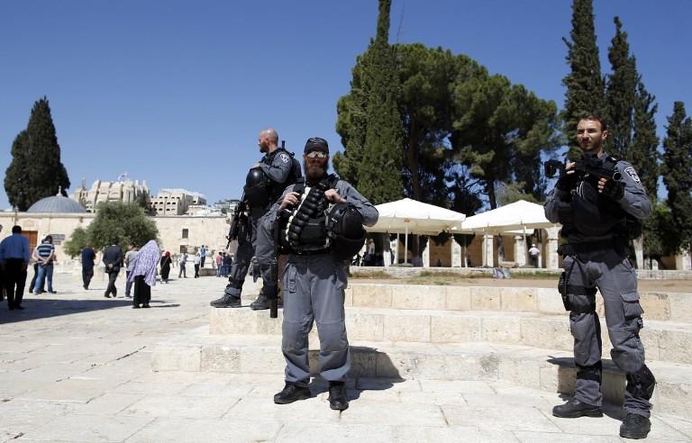 Right-wing Israeli settlers break into al-Aqsa compound under police escort