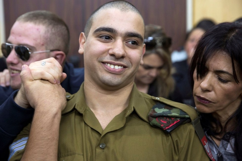 Israeli soldier who shot wounded Palestinian in head freed from prison
