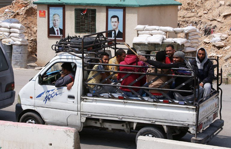 Chemical weapons watchdog set to enter Douma as rebels evacuated