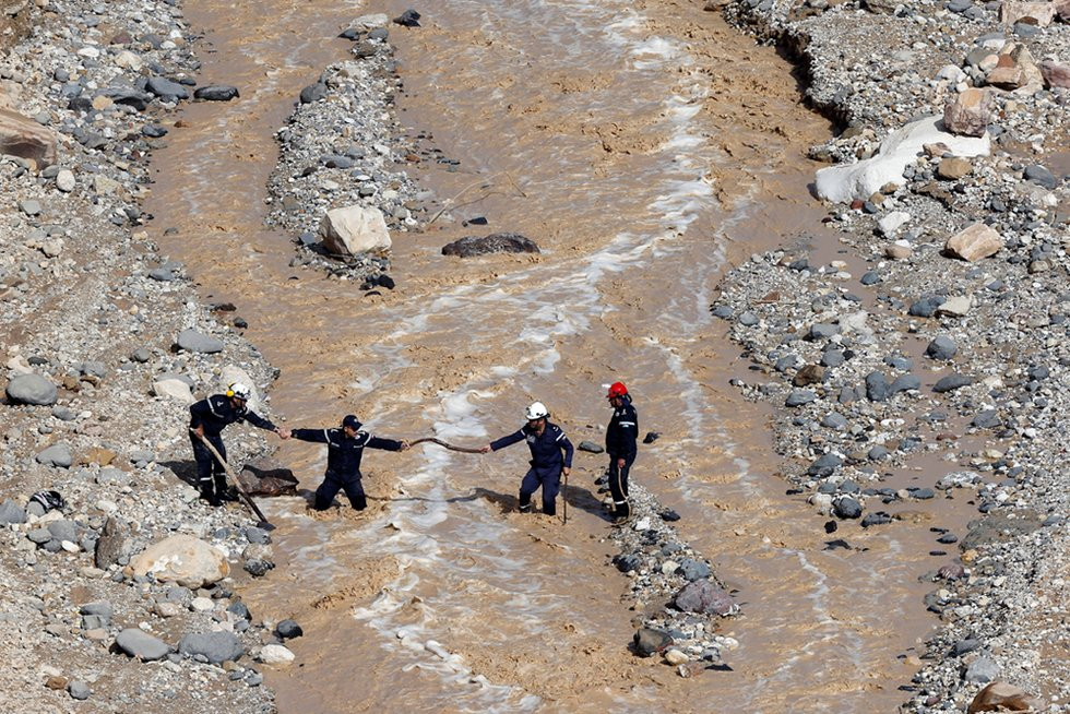 At least 7 dead after new round of flash floods hit Jordan