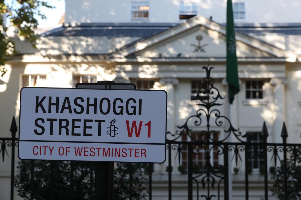 Street at Saudi Arabia's US embassy may be renamed 'Jamal Khashoggi Way'