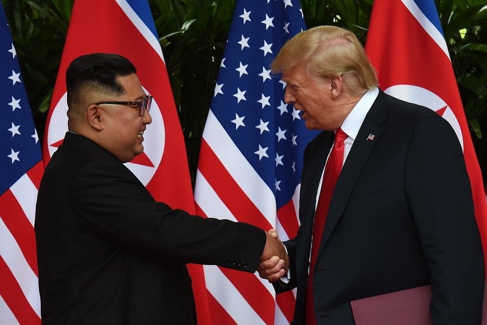 Iran warns North Korea: Trump could cancel deal before getting home