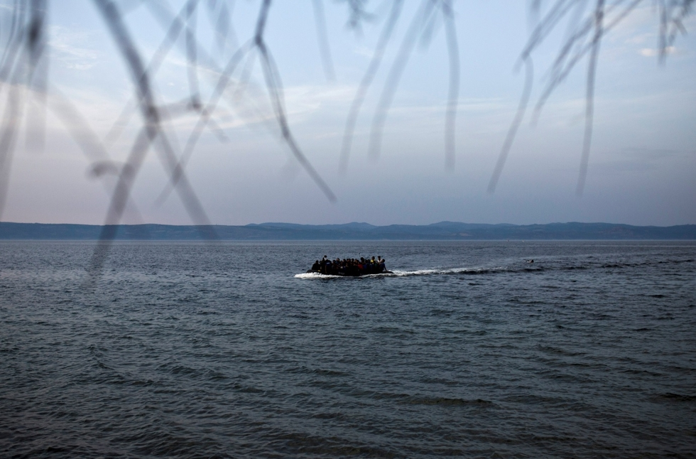 Seven children among nine Syrian migrants drowned off Turkey