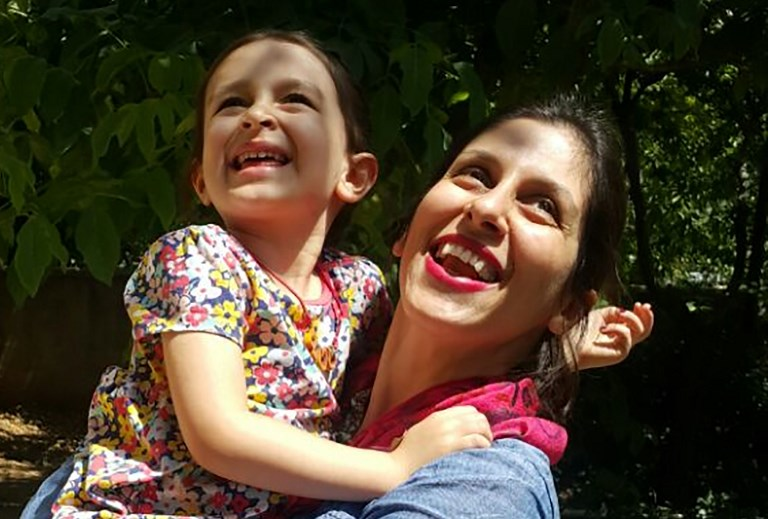 'I cried so much': UK-Iranian Zaghari-Ratcliffe allowed out of Tehran jail