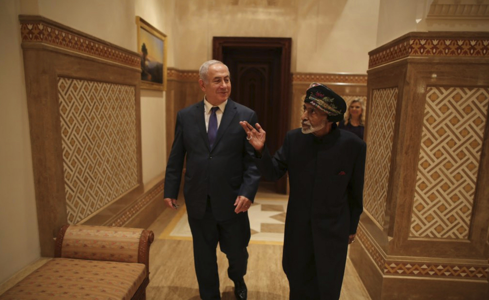 Israeli minister visits Oman as push to build ties to Gulf continues