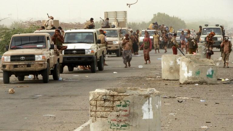 Saudi coalition air strike kills scores in Yemen's Hodeidah