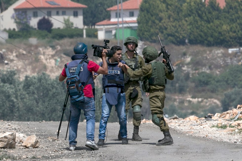 Israel ramps up arrests of Palestinian journalists