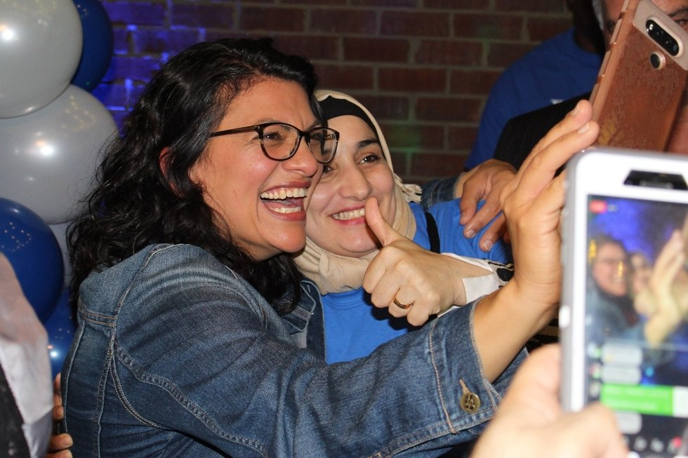 Historic first: Palestinian American Rashida Tlaib is elected to Congress