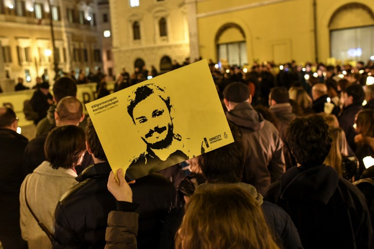 Giulio Regeni: Egypt refuses to accuse police over Italian student's murder