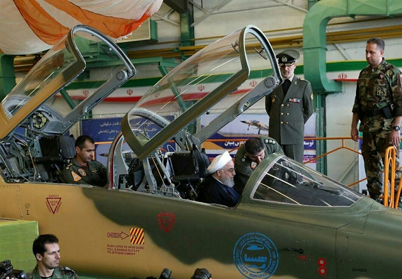 Iran showcases new fighter jet, says it will boost military power