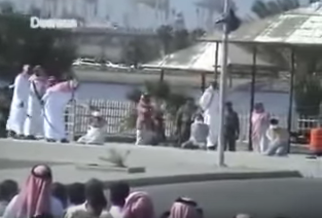 rare footage shows public beheadings in saudi arabia middle east eye. Black Bedroom Furniture Sets. Home Design Ideas