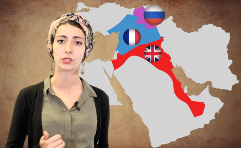 100 Years In 100 Seconds Centenary Of The Sykes Picot Agreement