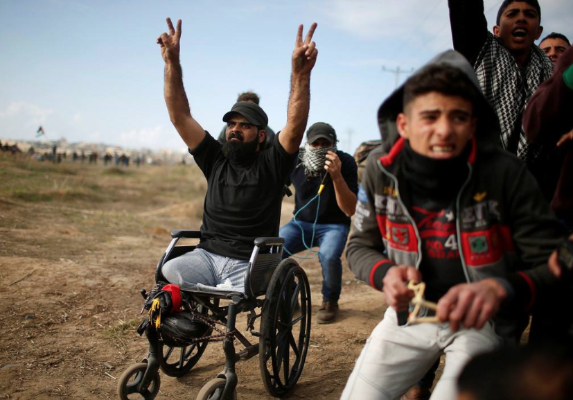 Disabled Palestinian man killed by Israeli soldiers in Gaza