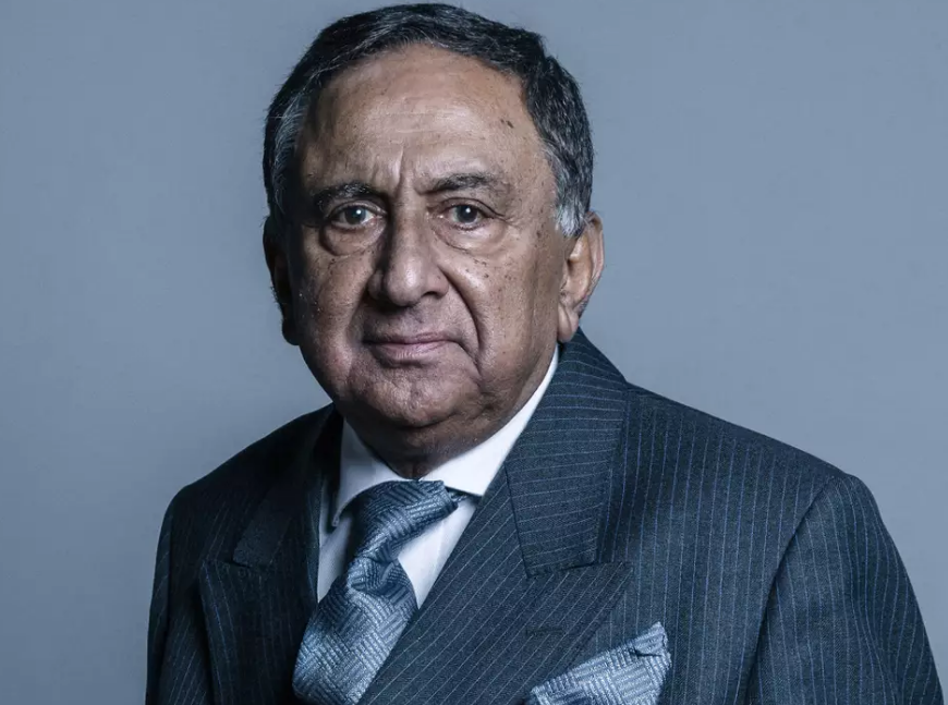 Lord Sheikh fights 'politically motivated' calls for expulsion from Tory party
