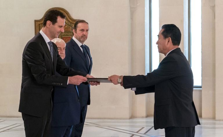 Assad planning visit to North Korea: Report