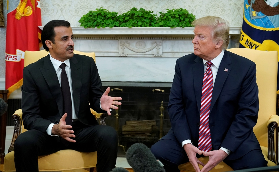'Extremely well': Trump hails ties with Qatar after meeting emir