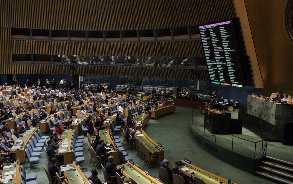 UN General Assembly adopts resolution condemning Israel for Gaza violence