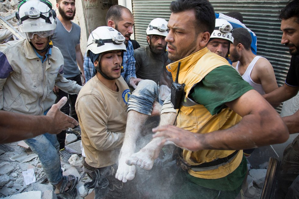 Seven White Helmets members shot dead in northwest Syria