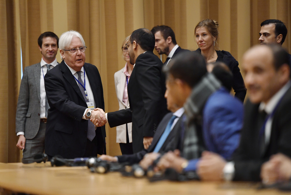 First day of Yemen peace talks conclude with 'difficult' but 'critical' discussions