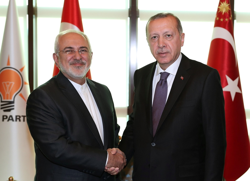 Iran foreign minister holds surprise talks with Turkey's Erdogan