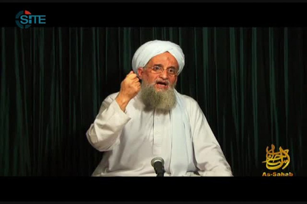 Zawahiri calls for jihad on eve of US embassy move to Jerusalem
